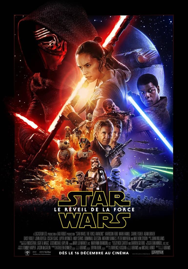 L'affiche de Star Wars: Le Réveil de la Force