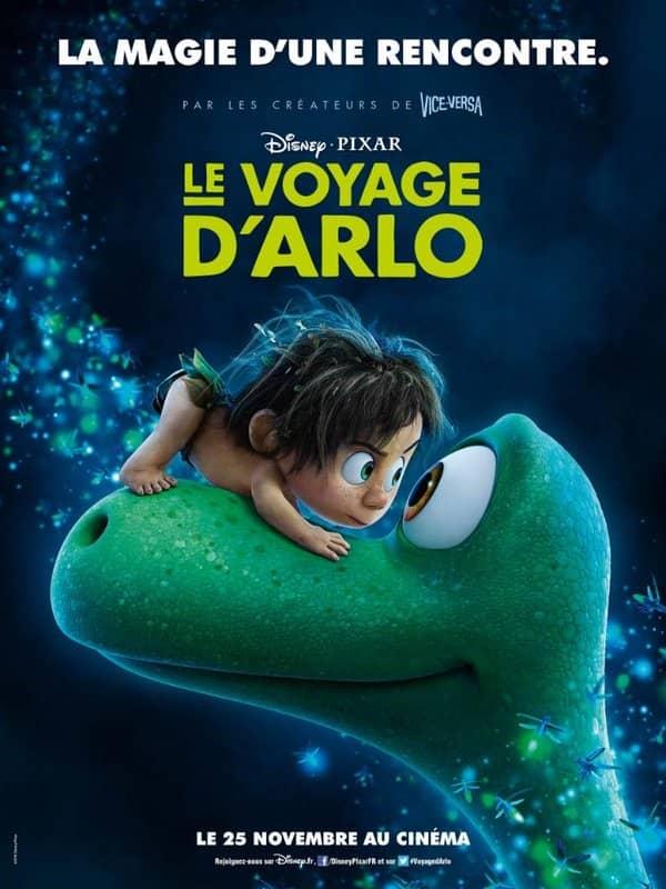 L'affiche de Le Voyage d'Arlo
