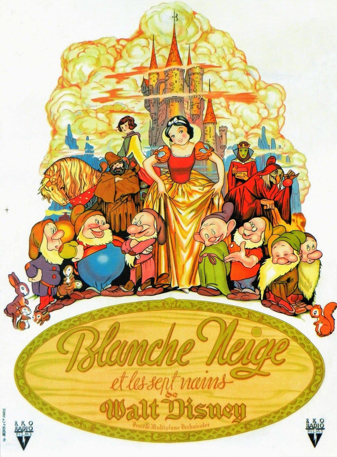 L'affiche de Blanche Neige et les Sept Nains