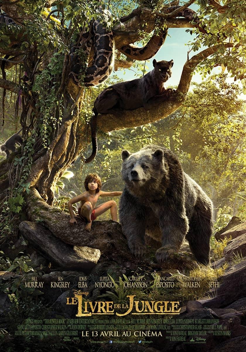L'affiche de Le Livre de la jungle