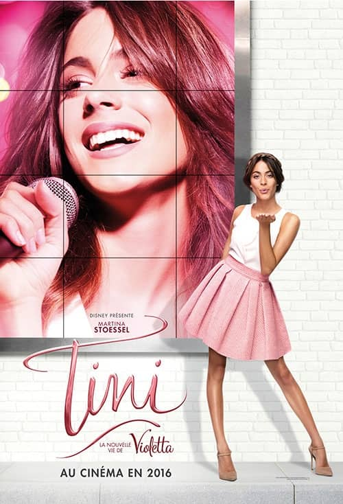 L'affiche de Tini: La nouvelle vie de Violetta