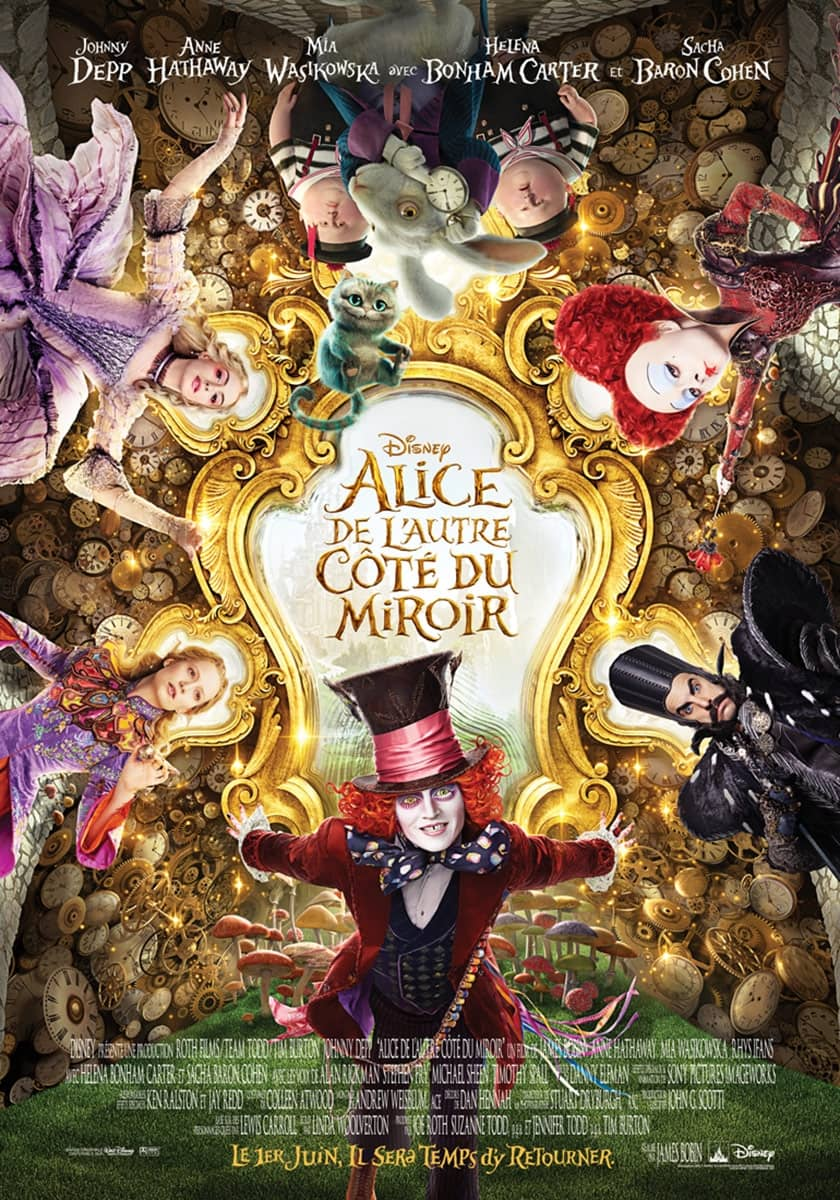 L'affiche de Alice de l'autre côté du miroir