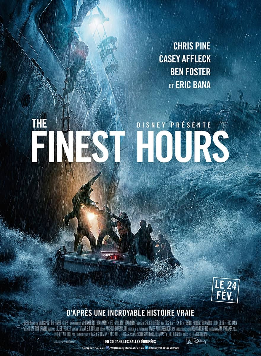 L'affiche de The Finest Hours