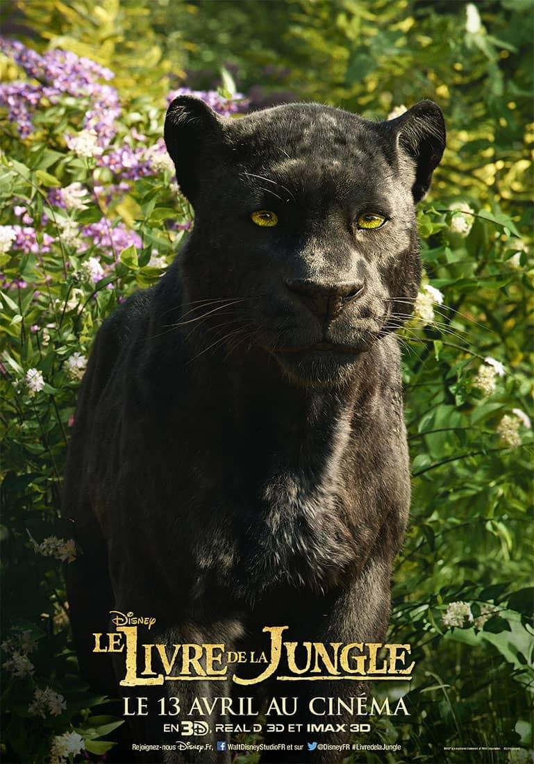 Les Personnages Du Livre De La Jungle S Affichent