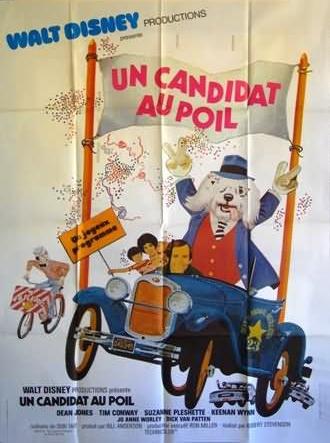 L'affiche de Un candidat au poil