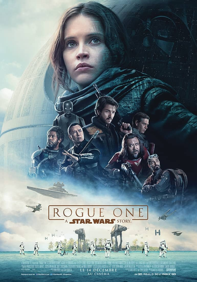 L'affiche de Rogue One : A Star Wars Story