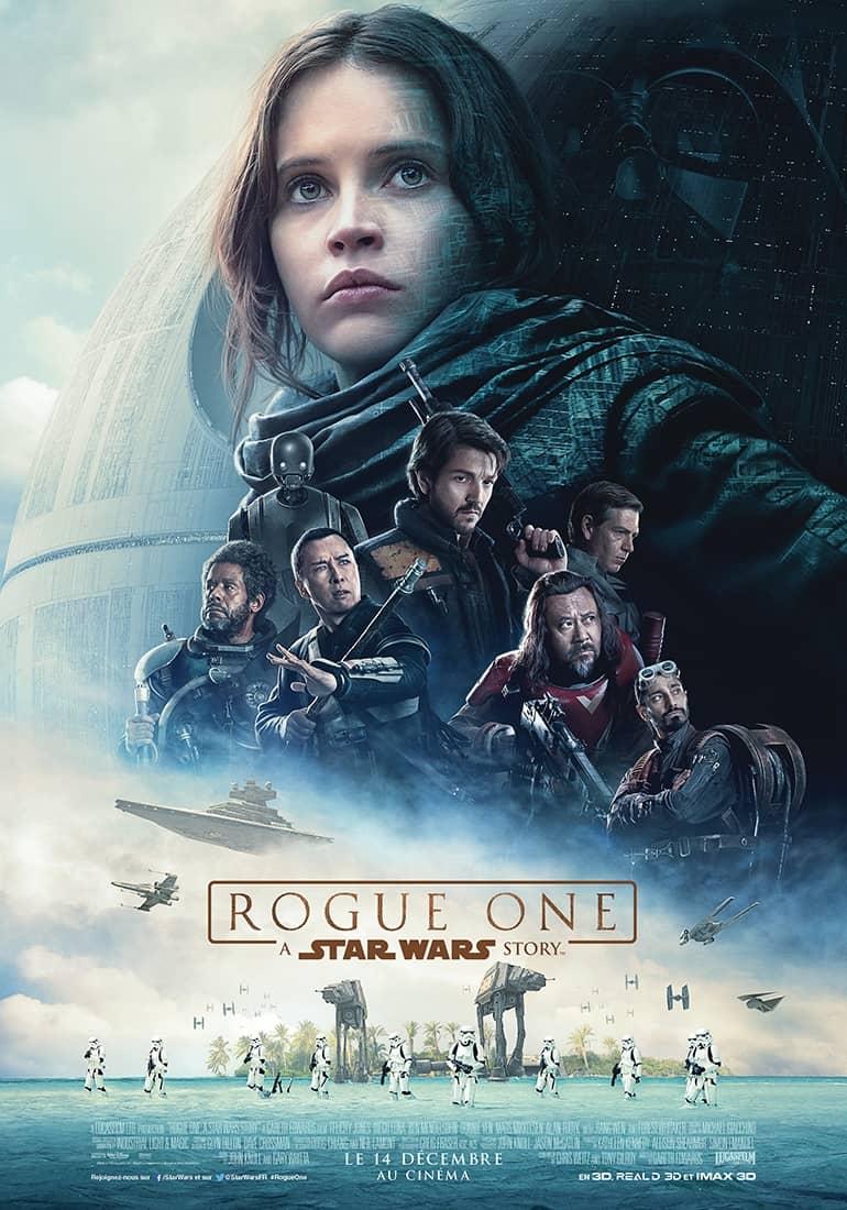 L'affiche de Rogue One: A Star Wars Story
