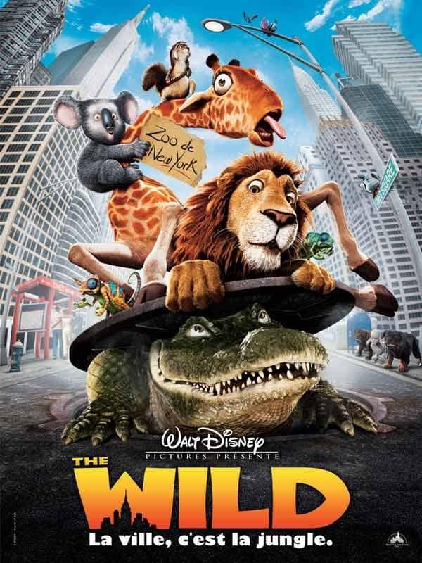 L'affiche de The Wild