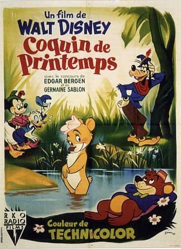 L'affiche de Coquin de printemps