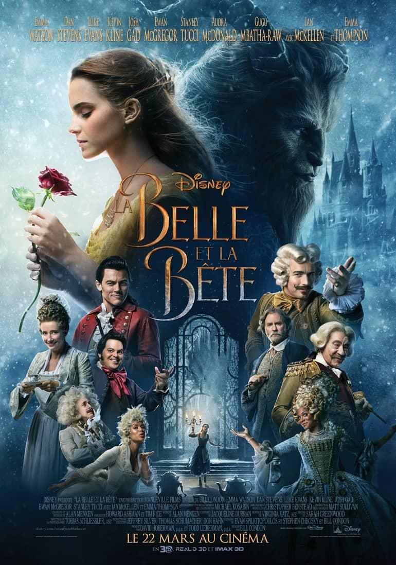 L'affiche de La Belle et la Bête