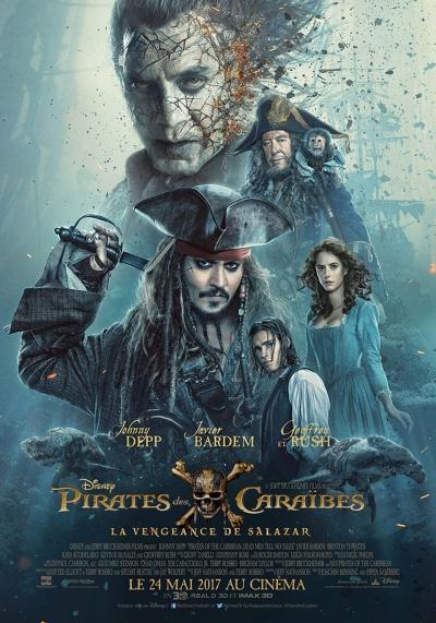 L'affiche de Pirates des Caraïbes: La vengeance de Salazar