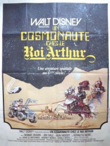 L'affiche de Un Cosmonaute chez le Roi Arthur