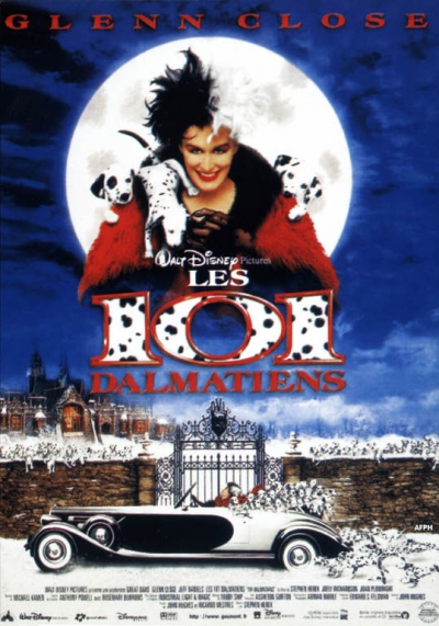 L'affiche de Les 101 Dalmatiens, le film