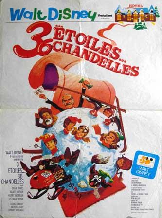 L'affiche de 3 Etoiles... 36 Chandelles