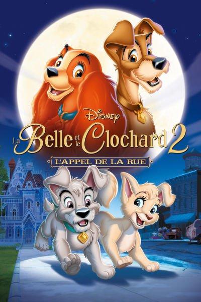 L'affiche de La Belle et le Clochard 2: l'appel de la rue