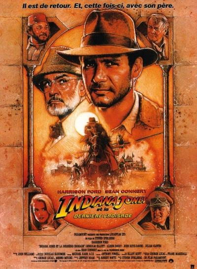 L'affiche de Indiana Jones et la dernière croisade