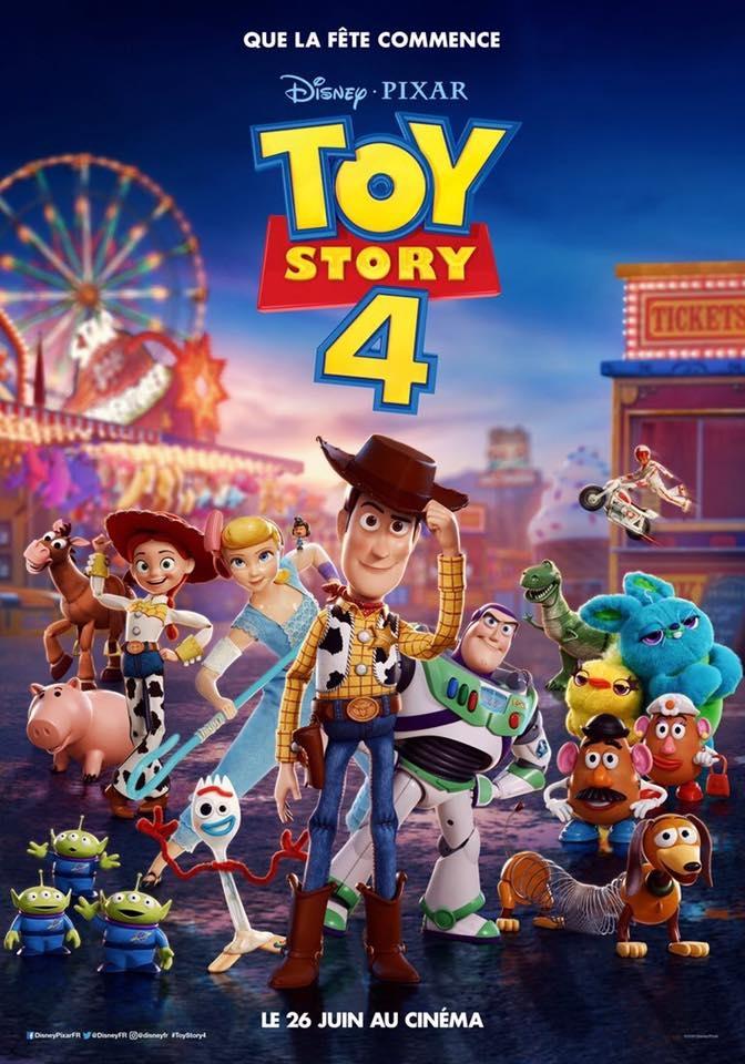 L'affiche de Toy Story 4