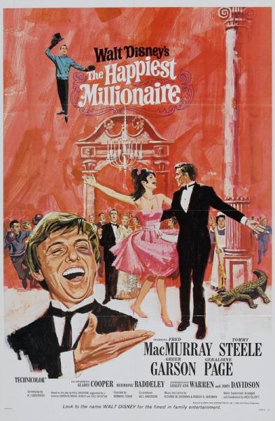 L'affiche de Le Plus Heureux des milliardaires