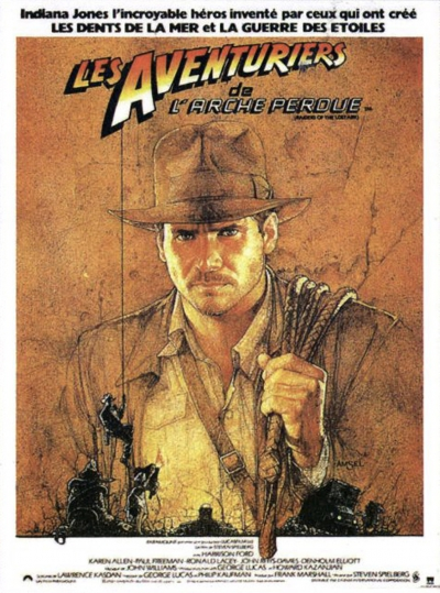 L'affiche de Les aventuriers de l'arche perdue