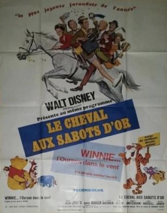 L'affiche de Le cheval aux sabots d'or