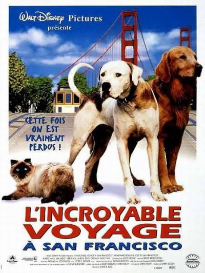 L'affiche de L'incroyable Voyage 2 à San Francisco