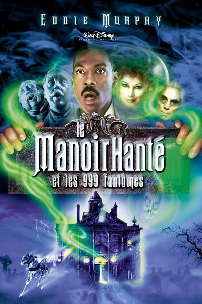 L'affiche de Le Manoir hanté et les 999 fantômes