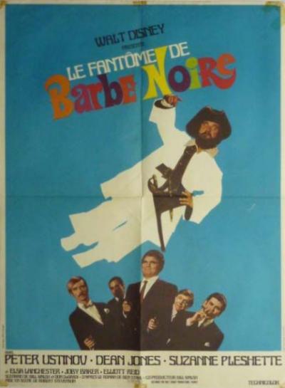 L'affiche de Le fantôme de Barbe Noire