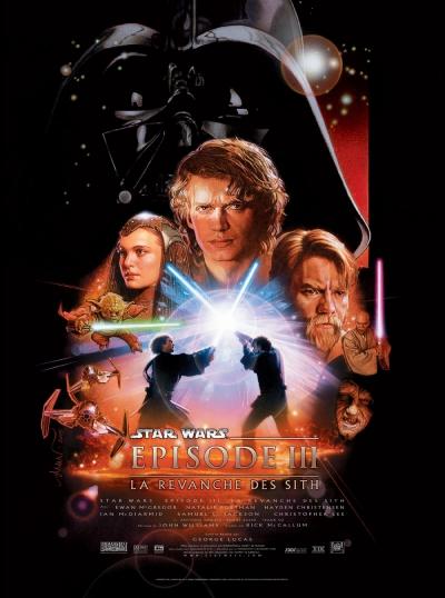 L'affiche de Star Wars, épisode III: La Revanche des Sith