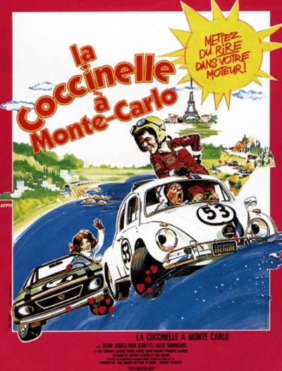 L'affiche de La coccinelle à Monte-Carlo