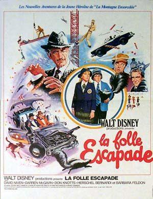 L'affiche de La Folle escapade