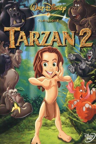 L'affiche de Tarzan 2: l'enfance d'un héros