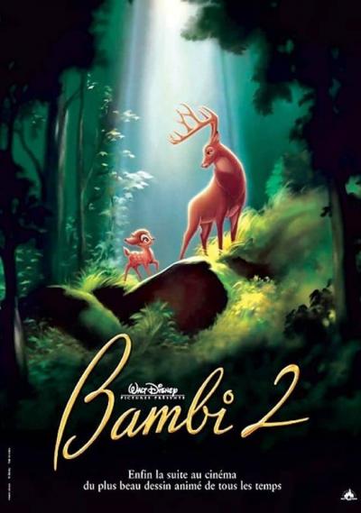 L'affiche de Bambi 2: le Grand Prince de la forêt