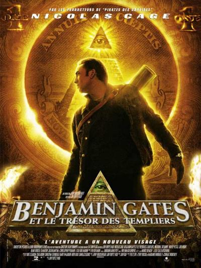 L'affiche de Benjamin Gates et le Trésor des Templiers