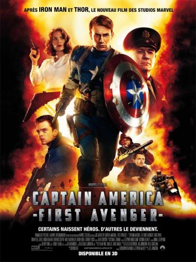 L'affiche de Captain America: First Avenger