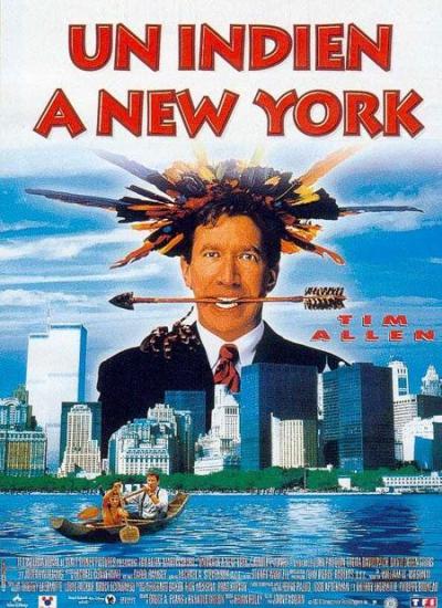 L'affiche de Un indien à New York