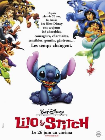 L'affiche de Lilo & Stitch
