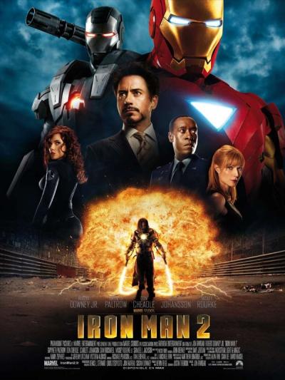 L'affiche de Iron Man 2