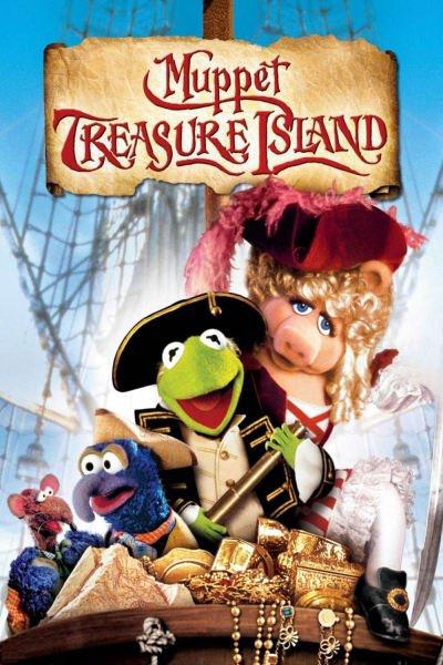 L'affiche de L'Île au trésor des Muppets
