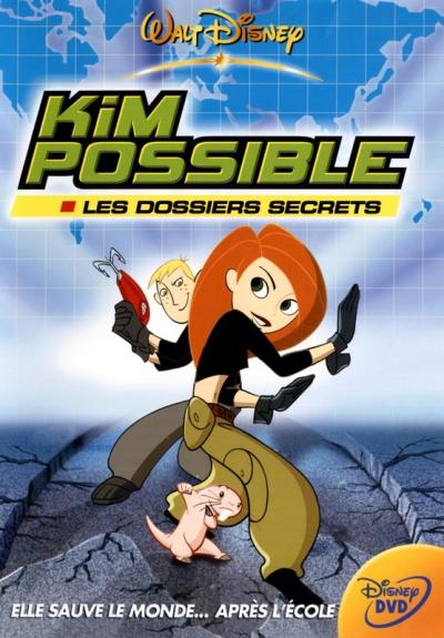 L'affiche de Kim Possible - Les dossiers secrets