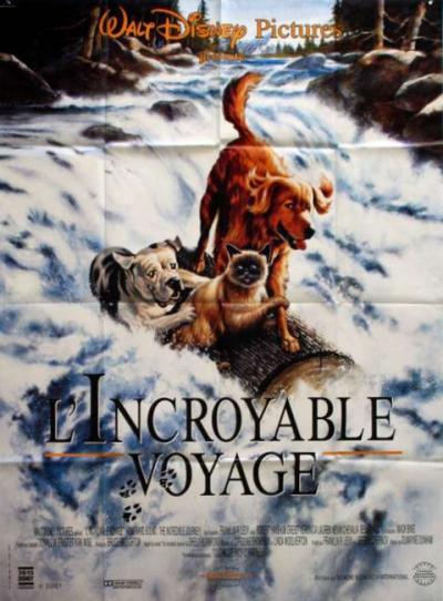 L'affiche de L'Incroyable Voyage