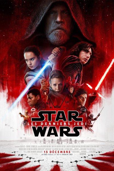 L'affiche de Star Wars: Les Derniers Jedi