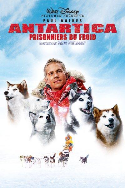 L'affiche de Antartica, prisonniers du froid