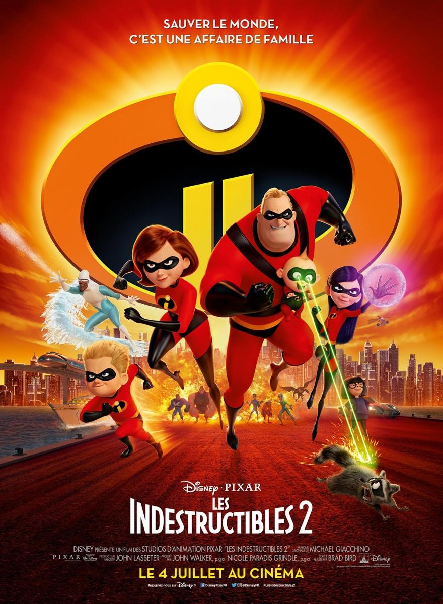 L'affiche de Les Indestructibles 2