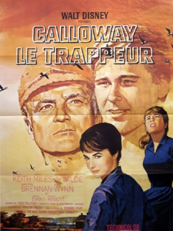 L'affiche de Calloway le trappeur