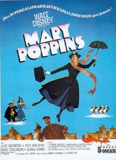 L'affiche de Mary Poppins