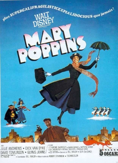 L'affiche de Mary Poppins