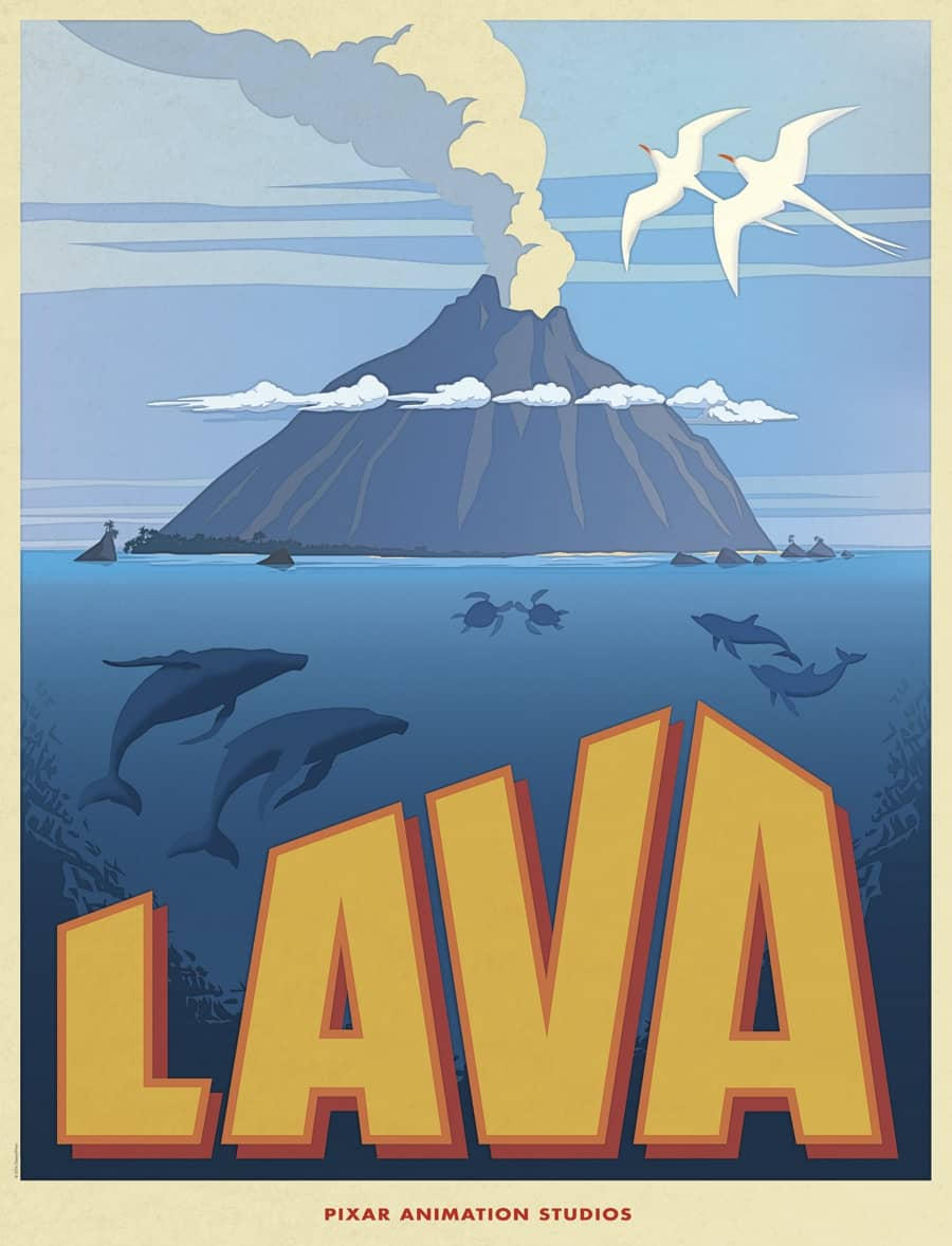 L'affiche de Lava