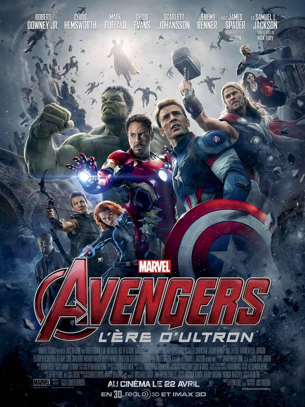 L'affiche de Avengers: L'ère d'Ultron