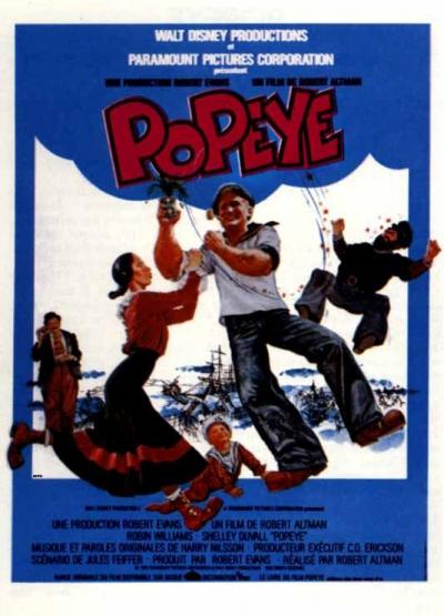 L'affiche de Popeye