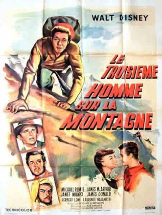L'affiche de Le troisième homme sur la montagne